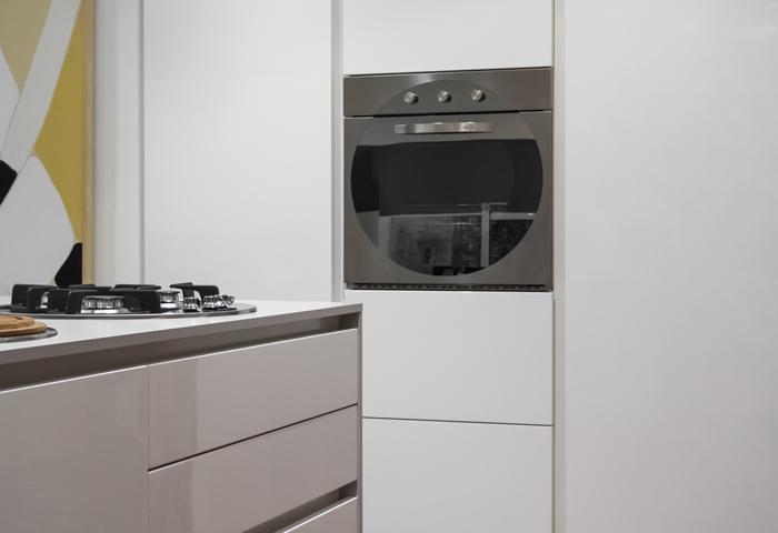 Occasione cucina Aster Atelier in esposizione proposta in promozione, sconto 40%